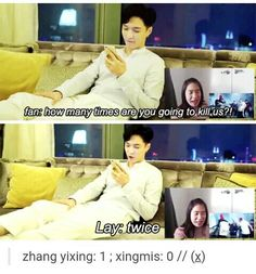 Stop killing us, Yixing. You're already my EXO bias, don't be killing me on your solo songs