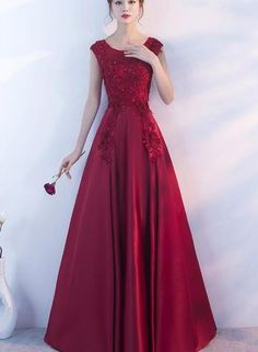 Bridesmaid Dresses, Prom Dresses, Wedding Dresses, Red Cocktail Dress, Formal Gowns, Formal Shoes, Trendy Dresses, Mother Of The Bride, Marie