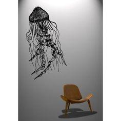 Vinyl Wall Decal Sticker Jelly Fish Deep Sea Jellyfish #364