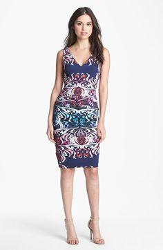 Nicole Miller 'Emergence' Matte Jersey Dress   Nordstrom