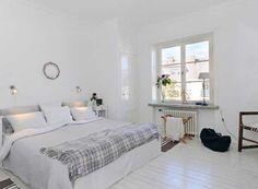 Decoración de habitaciones en blanco (20 fotos e ideas) | Mil Ideas de Decoración
