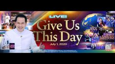 WATCH LIVE: GIVE US THIS DAY by Pastor Apollo C. Quiboloy at SMNI Studio... Spiritual Enlightenment, Spiritual Warfare, Spirituality, Disciple Me, Davao, Kingdom Of Heaven, Great Leaders, Son Of God, Apollo