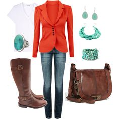 I love love love jackets!  They can dress up any pair of jeans.  And in the fall you have to have the boots to go with your jackets!