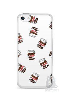 Capa Iphone 5C Nutella #5 - SmartCases - Acessórios para celulares e tablets :)