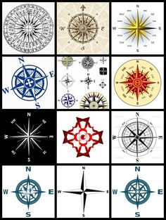 Bing : compass rose