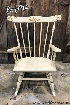 Antique Childs Wood Rocking Chair Mission Arts u0026 Craft | Pinterest | Rocking chairs and Products & Antique Childs Wood Rocking Chair Mission Arts u0026 Craft | Pinterest ...