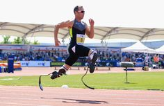 Studying Oscar Pistorius: Does The 'Blade Runner' Have An Advantage? #Olympics #London2012