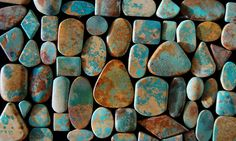 Hatchita New Mexico turquoise by Greg Thorne