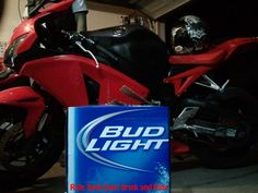 Never ride and drink