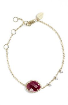 Meira T Diamond & Semiprecious Stone Bracelet