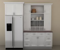 Kitchen Espresso Pantry Cabinet Armoire Pantry Cabinet 36 Inch ...