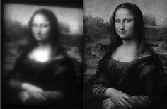 """Researchers at Georgia Institute of Technology have """"painted"""" a copy of the Mona Lisa at a width of just 30 microns -- no wider than a human hair."""