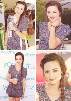 Crystal Reed. LOVE her & I've never even seen Teen Wolf.