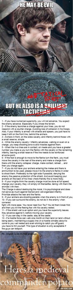In response to the guy who said he is a brilliant strategist... It lacked the basics!