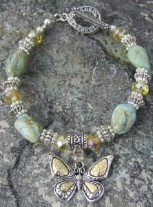 0c42e5105d865 Butterfly Kisses to Heaven Bracelet - Makes a perfect handmade gift for  butterfly lovers
