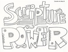 Children's Hymns Coloring Pages