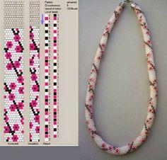 Crochet beading ropes patterns