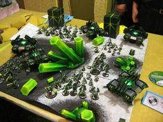 Army, Display, Necrons, Terrain