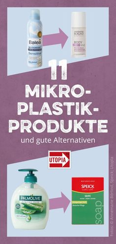 9 Produkte mit Mikroplastik – und gute Alternativen Microplastic in cosmetics or detergent is actually completely unnecessary. Deodorant, Herbalife Meal Plan, Botox Brow Lift, Alternative, In Cosmetics, Diy Makeup, Life Hacks, Beauty Hacks, Personal Care