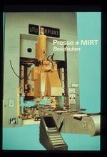 Beschicken - Presse mit maschinenintegrierter Robotertechnik (MIRT), Farb-Diapositiv, Kleinbildformat 24x36mm, 1985