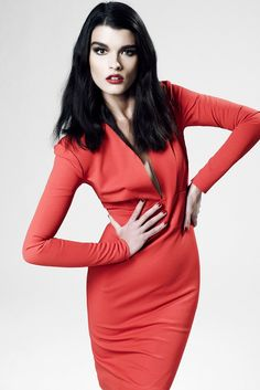 ZAC Zac Posen Fall 2012 Ready-to-Wear Fashion Show - Crystal Renn