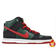 Mens Nike Dunk SB High Gucci Deep Forest Paprika 672810e12