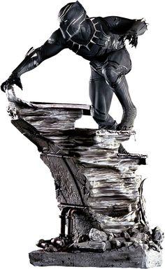 Marvel Comics Black Panther Polystone Statue