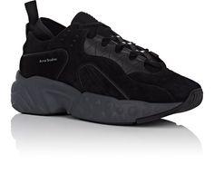 buy online fb524 3ffdc Acne Studios - Rockaway Suede Sneakers Suede Sneakers, Sneakers Nike, Black  Suede, Acne