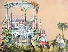 ANTIQUE VICTORIAN TRADE CARD COLLAGE SCRAPBOOK PAGES on eBay!