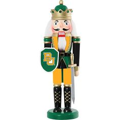 A #BaylorProud nutcracker! That's the way to have a #BaylorChristmas.