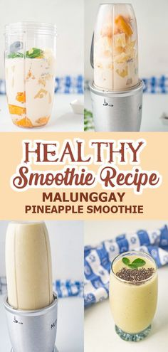 Try this Malunggay Pineapple Smoothie that is so delicious, healthy and refreshing. It's easy to make and needs 6 ingredients only!