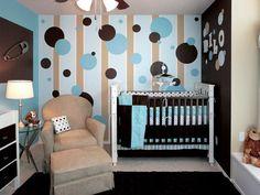 Nursery Room with Wallpaper Decor Creating Sweet Baby Nursery Ideas