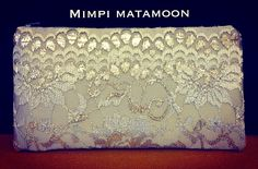 A MediumLong #mimpimatamoon #pouch #handmadeinkualalumpur #madeinmalaysia Icy Grey Lace! It will soon be on its way to Singapore. Many thanks !!