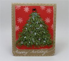 20+ Beautiful Diy & Homemade Christmas Card Ideas For 2012