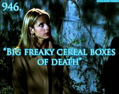 Big freaky cereal boxes of death