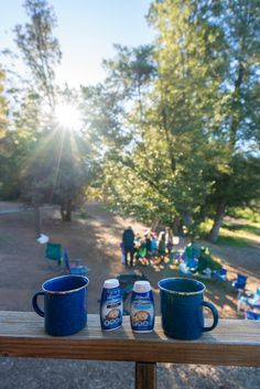 Equal Café Creamers are small enough to take camping. Coffee Girl, Coffee Shop, Coffee Cups, Lifestyle Articles, California Living, Coffee Tasting, Coffee Photography, Coffee Quotes, French Press