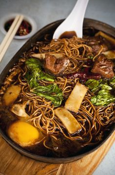 yee mee. no recipe here, but i would sure love to try this.