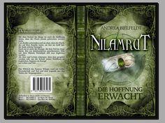 Und auch das #Taschenbuch erstrahlt in neuem Glanz! Cover ©Traumstoff #Nilamrut - Die Hoffnung erwacht  #AndreaBielfeldt #Trilogie #Fantasy #Buchhandel #Print