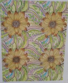 Flowers Paisley I Color From The Colorama Coloring Book Zoey Rh Com Paisleys