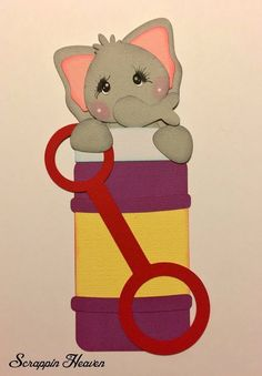 Elephant Bubble Bottle. Background paper is not included. Special Request are done in the order they are received and are worked into my normal daily agenda. I only use A/F and L/F materials on all my work. | eBay!