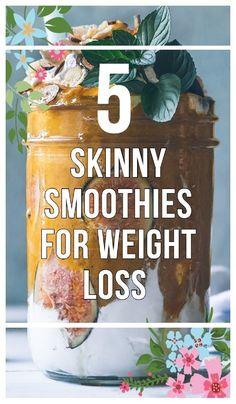 Homemade smoothies can be delicious and packed with fat-burning ingredients. - Healthy Meals For Weight Loss - Weight Loss Smoothie Recipes, Weight Loss Snacks, Weight Loss Drinks, Weight Loss Meal Plan, Easy Weight Loss, Healthy Weight Loss, How To Lose Weight Fast, Diet Recipes, Healthy Recipes