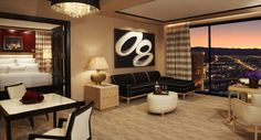 The Encore Hotel in Las Vegas, NV; Just like home away from home. This place has inspire our home decor.