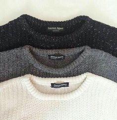 American Apparel sweater neutrals