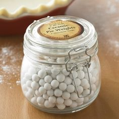 Holiday Gift Ideas from Table7 Events: www.table-seven.com Pie Weights Jar
