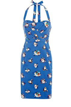 $95.00 - Bandeau Printed Sundress from Oasis