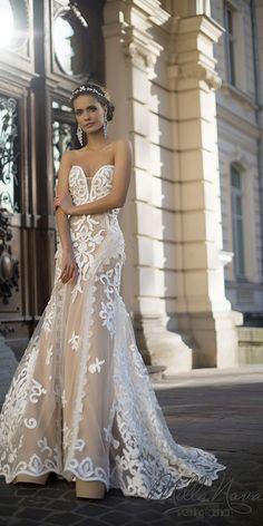 Milla Nova Wedding Dresses Collection 2016 includes gowns for any taste. Mila Nova Wedding Dress, Sweetheart Wedding Dress, Gorgeous Wedding Dress, Beautiful Bride, 2016 Wedding Dresses, Bridal Dresses, Wedding Gowns, Prom Dresses, Long Dresses