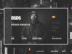 BSDS | Aaron Draplin by ted pioli Draplin Design, Portfolio Resume, Ui Design, Designers, Facebook, Cover, Design Web, User Interface Design