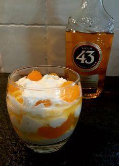 dessert with liquor licor 43 Lisette Writes - Köstliche Desserts, Delicious Desserts, Dessert Recipes, Yummy Food, Cake Recipes, Tapas, Keto Dessert Easy, High Tea, Brunch