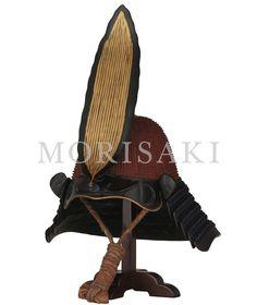 [ 商品名 : K-37  朱漆塗六十二間小星兜 ] 甲冑・武具MORISAKI