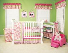 Trend Lab Hula Baby Crib Bedding and Accessories